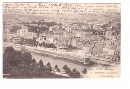 08 Charleville Mezieres Vue Generale Persan Couty Edit Van Praet Cachet Convoyeur Hirson à Aulnoye 1903 - Charleville