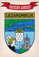 [22] Côtes D'Armor > Lezardrieux écusson Adhesif Et Blason Ville De Lezardrieux - Frankreich