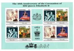 Serie Nº 1088/91 En Hb  Lesotho - Lesotho (1966-...)