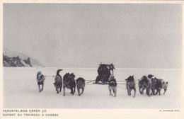 Europe > Groenland Fangstslaede Korer Ud  Depart Dutraineau A Chasse - Groenlandia