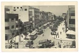 Cpsm Israël - Tel - Aviv - Allenby Road ( Automobiles, Autobus ), Voyagée En 1947 - Israel