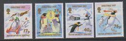 British Antarctic Territory (BAT) 1997 Christmas 4v ** Mnh (40949) - Ongebruikt