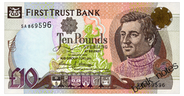 IRELAND NORTHERN 10 POUNDS 1998 FIRST TRUST BANK Pick 136a Unc - Ierland