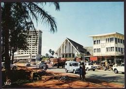 CAMEROUN Yaounde Centre Commercial Cp Années 80 (Très Très Bon état ) BD689) - Camerún