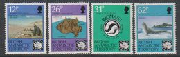 British Antarctic Territory (BAT) 1991 Antarctic Treaty 4v ** Mnh (40950) - Brits Antarctisch Territorium  (BAT)