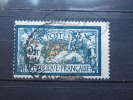 VEND BEAU TIMBRE DE FRANCE N° 123 , BLEU-NOIR ET CHAMOIS !!! - 1900-27 Merson