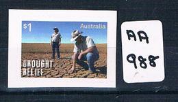 AUSTRALIA 2018  DROUGHT RELIEF 1VAL S/AD  EX BOOKLET  Muh AA988 - 2010-... Elizabeth II