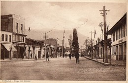 TIRANA   - Rue Nentor - Albanie
