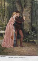 AK 0055  Beyschlag , R. - Ich Schnitt Es Gern In Alle Rinden Ein .... ( Amour ) Um 1925 - Malerei & Gemälde