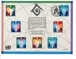ONU VIENNE 1994 ANNEE INTERNATIONALE DE LA FAMILLE - ONU