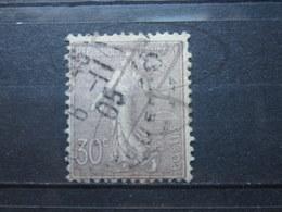 VEND BEAU TIMBRE DE FRANCE N° 133 !!! (d) - 1903-60 Semeuse Lignée