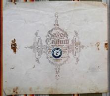 COURBEVOIE Ancien Emballage PUBLICITAIRE Savon CADUM Comptoirs Francais - Parfums & Beauté