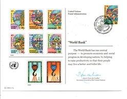 ONU VIENNE 1989 BANQUE MONDIALE - ONU