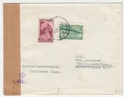 Yugoslavia, Letter Cover Censored Travelled 1948 Novi Sad Pmk B181015 - 1945-1992 República Federal Socialista De Yugoslavia