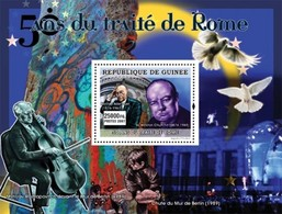 Guinea 2007, 50th Treaty Of Rome, Rostopov, BF - Musique