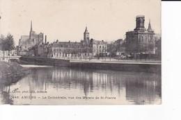 AMIENS LA CATHEDRALE VUE DES MARAIS DE SAINT PIERRE - Amiens