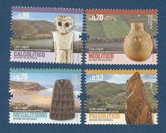 Portugal  2018 , Roteiro Pre-Historico - Compl. Satz - Postfrisch / MNH / (**) - Unused Stamps