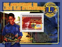 Guinea 2007, 90th Lions Club, Hallen Keller, Turtle, BF - Tortues