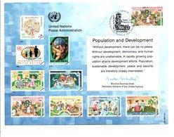 ONU GENEVE 1994 POPULATION ET DEVELOPPEMENT - ONU