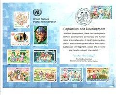 ONU VIENNE 1994 POPULATION ET DEVELOPPEMENT - ONU