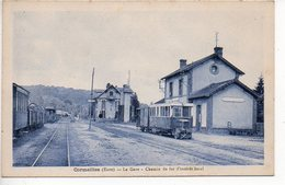 Cormeilles : La Gare - Chemin De Fer D'intérêt Local - Autres Communes