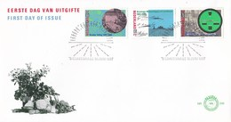 Needrland - FDC - Broeker Veiling/Rijk Der Duizend Eilanden/Groninger Landschap/veiling/veilingklok - NVPH E246 - Géographie