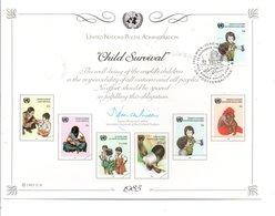 ONU VIENNE 1985 LA SURVIE DE L'ENFANT - ONU