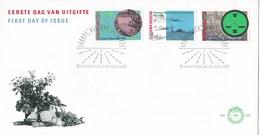 Nederland - FDC - Broeker Veiling/Rijk Der Duizend Eilanden/Groninger Landschap/veiling/veilingklok - NVPH E246 - Géographie