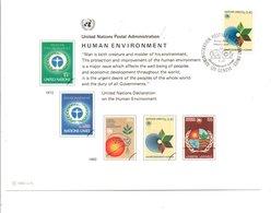 ONU GENEVE 1982 ENIRONNEMENT HUMAIN - ONU