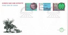 Nederland - FDC - Broeker Veiling/Rijk Der Duizend Eilanden/Groninger Landschap/veiling/veilingklok - NVPH E246 - Agriculture