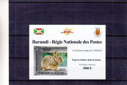 Burundi - COB 1837 ** En Petite Feuille - NON Dentelés - Lapin Nain - Armoiries - - Lapins