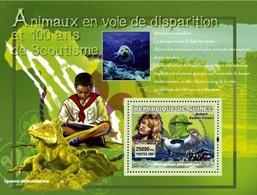 Guinea 2007, 100th Scouting, Animals, Iguana, Seal, BF - Reptiles & Batraciens