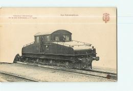Cie D'Orléans : Tracteur Electrique 1er Type. TBE. 2 Scans. Les Locomotives, Edition Fleury - Matériel
