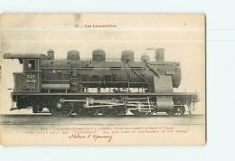 Cie De L'Est : Locomotive Compound Consolidation 4009, Ateliers D'Epernay. 2 Scans. Les Locomotives, Edition Fleury - Matériel