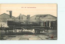 Cie De L'Est : Locomotive 908 Service Des Gares, Konigsberg ? TBE. 2 Scans. Les Locomotives, Edition Fleury - Matériel