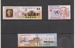 SAMOA   Année 1990 N°Y/T: 712/714-723** Côte : 19,50 € - Samoa