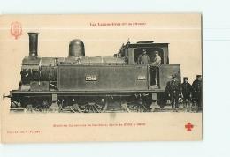 Cie De L'Ouest : Machine Service De Banlieue 3544. TBE. 2 Scans. Les Locomotives, Edition Fleury - Matériel
