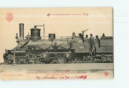 Cie De L'Ouest Etat : Machine 778 Trains Voyageurs. 2 Scans. Les Locomotives, Edition Fleury - Matériel