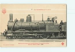 Cie Du Nord : Machine 4695 Trains Marchandises. TBE. 2 Scans. Les Locomotives, Edition Fleury - Matériel