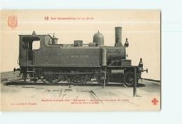 Cie Du Nord : Machine Ravachot 2313 Service De Banlieue. TBE. 2 Scans. Les Locomotives, Edition Fleury - Matériel