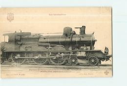 Cie PLM : Machine 2614 Train Express. TBE. 2 Scans. Les Locomotives, Edition Fleury - Matériel