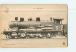 Cie D'Orléans : Machine 5001 Trains Marchandises. TBE. 2 Scans. Les Locomotives, Edition Fleury - Matériel