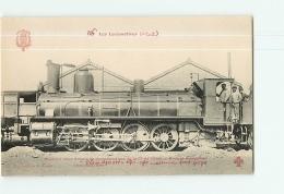 Cie De L'Etat : Machine  4040 Pour Trains Marchandises. TBE. 2 Scans. Les Locomotives, Edition Fleury - Matériel