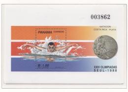Panama 1988 Seoul Olympic Games Souvenir Sheet MNH/** (M7) - Ete 1988: Séoul