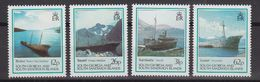 South Georgia 1990 Shipwrecks 4v ** Mnh (40951D) - South Georgia