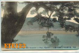 Post Card  - JAPON - Japan - NAGASAKI - View Of Fisher Village From Shiomisaki At Mogi - Village De Pêcheur De Shiomisak - Japon