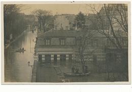 BOULOGNE BILLANCOURT - Carte Photo Légendée Au Verso - Inondations - Boulogne Billancourt