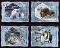 """HUNGARY/Ungarn 2009, IPY - Preserve The Polar Regions And Glaciers """"BASIC PAPER"""" Set Of 4v** - Preserve The Polar Regions And Glaciers"""