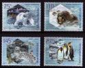 "HUNGARY/Ungarn 2009, IPY - Preserve The Polar Regions And Glaciers ""BASIC PAPER"" Set Of 4v** - Preservare Le Regioni Polari E Ghiacciai"
