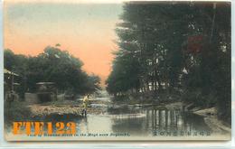 Post Card  - JAPON - Japan - NAGASAKI - View Of River In The Mogi Near Nagasaki - Rivière Et Pêcheur - Japon